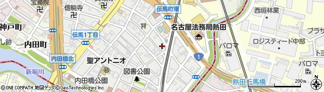 八百竹仕出し部周辺の地図