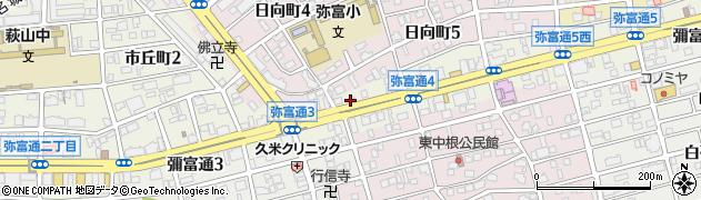 BENTOMAN やとみ通店周辺の地図
