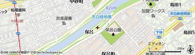 愛知県名古屋市天白区天白町大字島田(保呂)周辺の地図