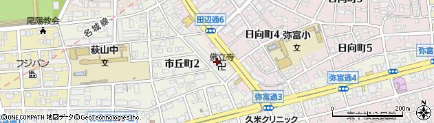 仏立寺周辺の地図