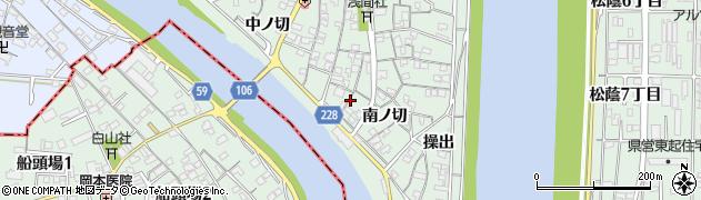 愛知県名古屋市中川区下之一色町(南ノ切)周辺の地図
