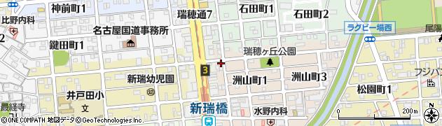 井筒周辺の地図