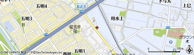 中華料理鴻運周辺の地図