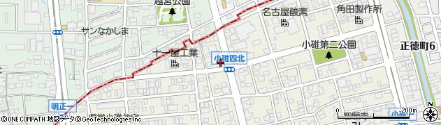 うなぎ一結周辺の地図