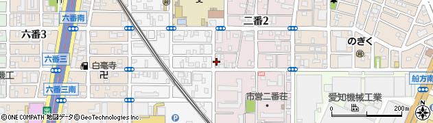 ローズ周辺の地図