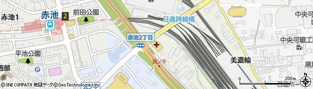 愛知県日進市浅田町(笹原)周辺の地図