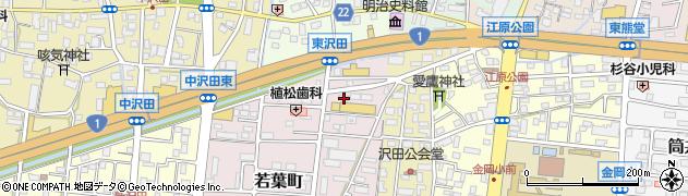 信濃路周辺の地図