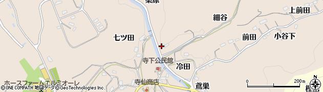 愛知県豊田市寺下町(細谷)周辺の地図