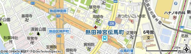 天龍周辺の地図