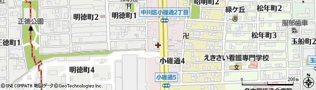 おはしcafeガスト 名古屋小碓通店周辺の地図