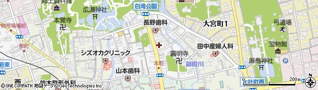 ベーグル&ベーグルシティ 三島店周辺の地図