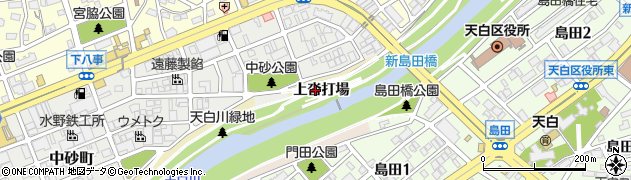 愛知県名古屋市天白区天白町大字八事(上沓打場)周辺の地図