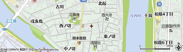 愛知県名古屋市中川区下之一色町(北ノ切)周辺の地図