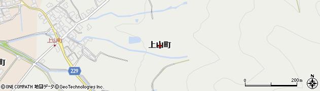 滋賀県東近江市上山町周辺の地図