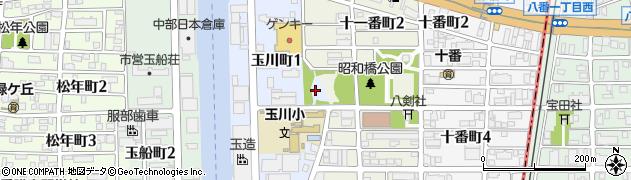 愛知県名古屋市中川区熱田新田東組周辺の地図