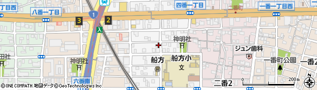 愛知県名古屋市熱田区四番周辺の地図