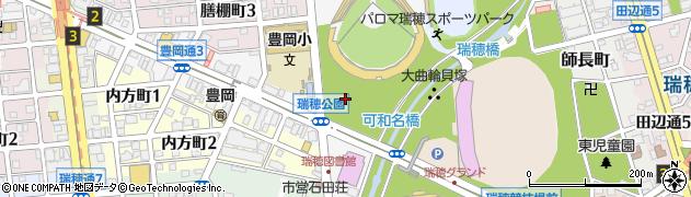 愛知県名古屋市瑞穂区豊岡通周辺の地図