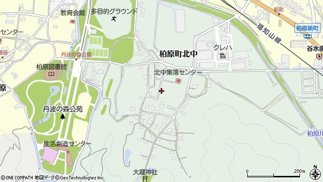 〒669-3306 兵庫県丹波市柏原町北中の地図