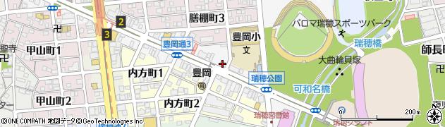 株式会社まるしん周辺の地図