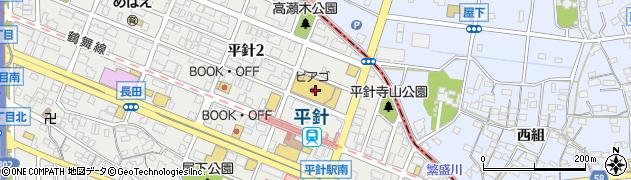 寿司御殿平針店周辺の地図