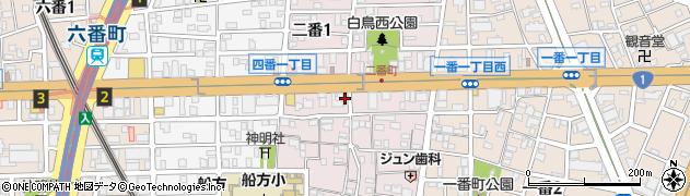 おばちゃん家周辺の地図