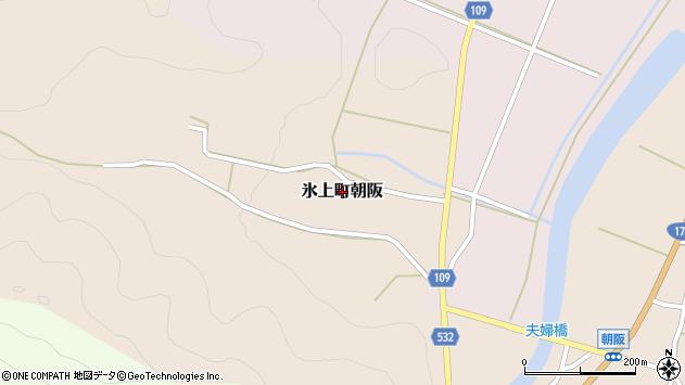 〒669-3574 兵庫県丹波市氷上町朝阪の地図
