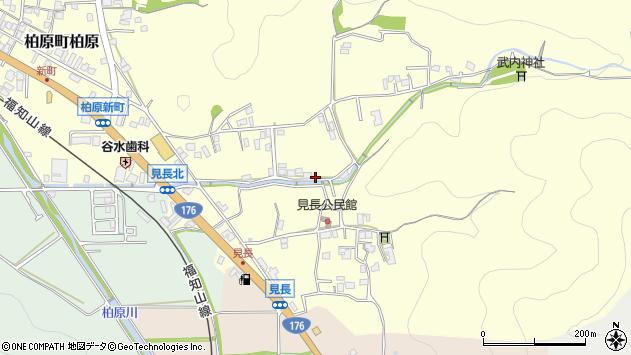〒669-3303 兵庫県丹波市柏原町見長の地図