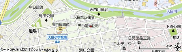 愛知県名古屋市天白区横町周辺の地図