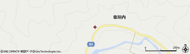 京都府京都市右京区京北細野町(西垣内)周辺の地図