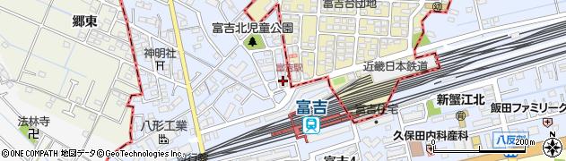 有限会社コトブキヤ富吉周辺の地図