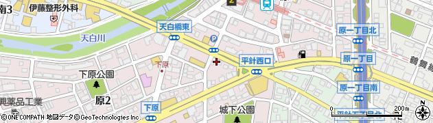 お持ち帰り寿司おりはな周辺の地図