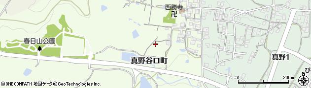 滋賀県大津市真野谷口町周辺の地図