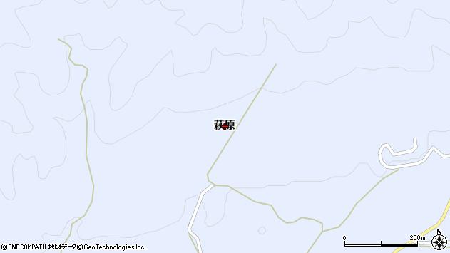 〒689-5222 鳥取県日野郡日南町萩原の地図