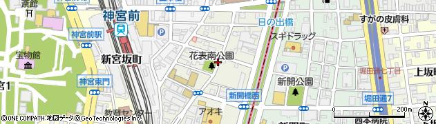 愛知県名古屋市熱田区花表町周辺の地図