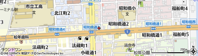 わか周辺の地図