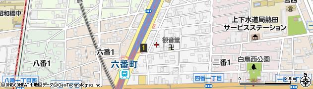 日月楼周辺の地図