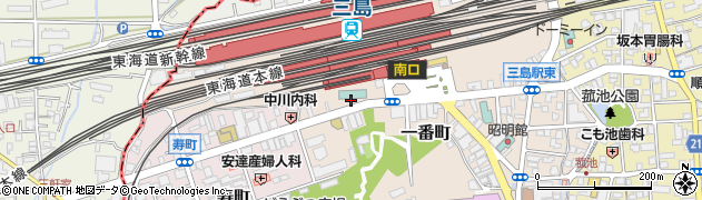 リバティ 三島店周辺の地図