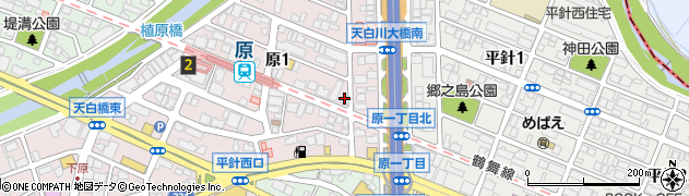かみよし周辺の地図