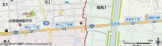ルポ周辺の地図