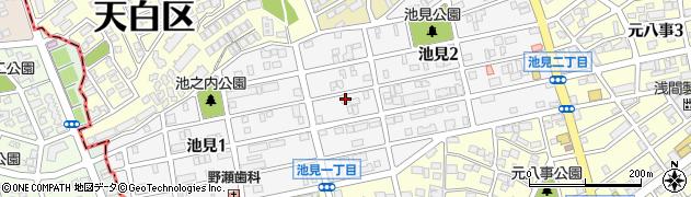愛知県名古屋市天白区池見周辺の地図