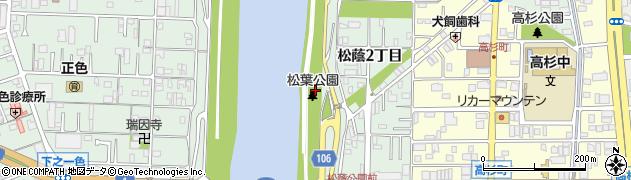 愛知県名古屋市中川区下之一色町(干潟)周辺の地図