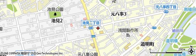 頤和園周辺の地図