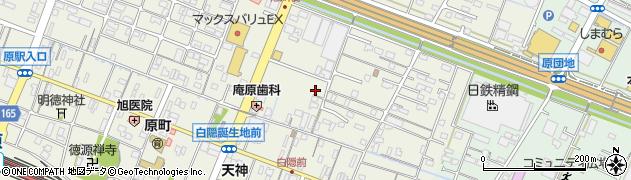 静岡県沼津市原周辺の地図