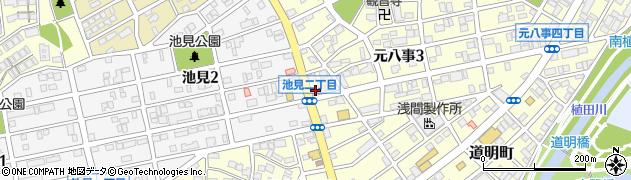 居ザックつる亀周辺の地図