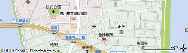 愛知県名古屋市中川区下之一色町(波花)周辺の地図