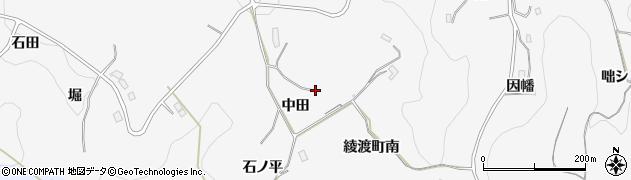 愛知県豊田市綾渡町周辺の地図