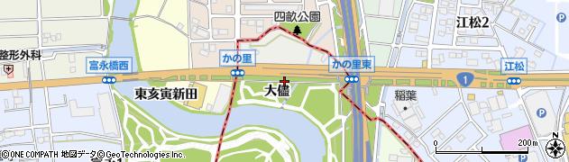 愛知県名古屋市港区南陽町大字福田(大儘)周辺の地図