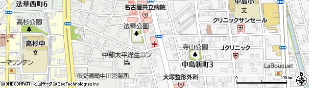 元気周辺の地図