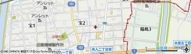 高さか周辺の地図