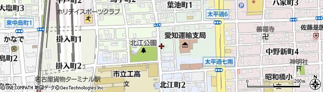 べんとう屋周辺の地図